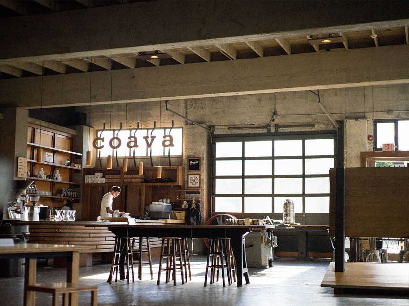 Coava Coffee Flagship store on Grand in Portland OR